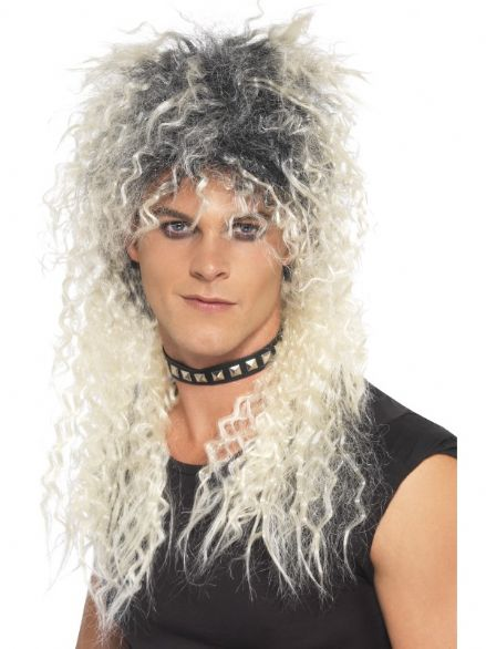 1980's Hard Rocker Blonde Wig
